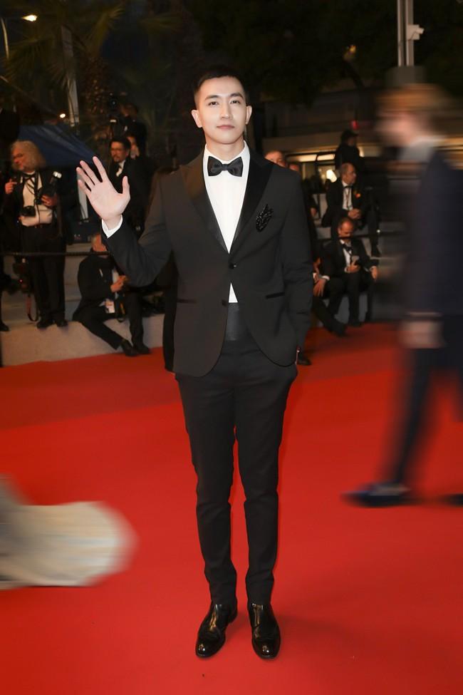 Sau Ngọc Trinh, tình tin đồn một thời của Angela Phương Trinh - Võ Cảnh điển trai trong lần đầu xuất hiện trên thảm đỏ LHP Cannes - Ảnh 6.