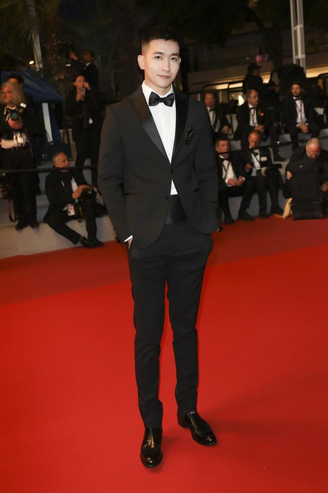 Sau Ngọc Trinh, tình tin đồn một thời của Angela Phương Trinh - Võ Cảnh điển trai trong lần đầu xuất hiện trên thảm đỏ LHP Cannes - Ảnh 7.