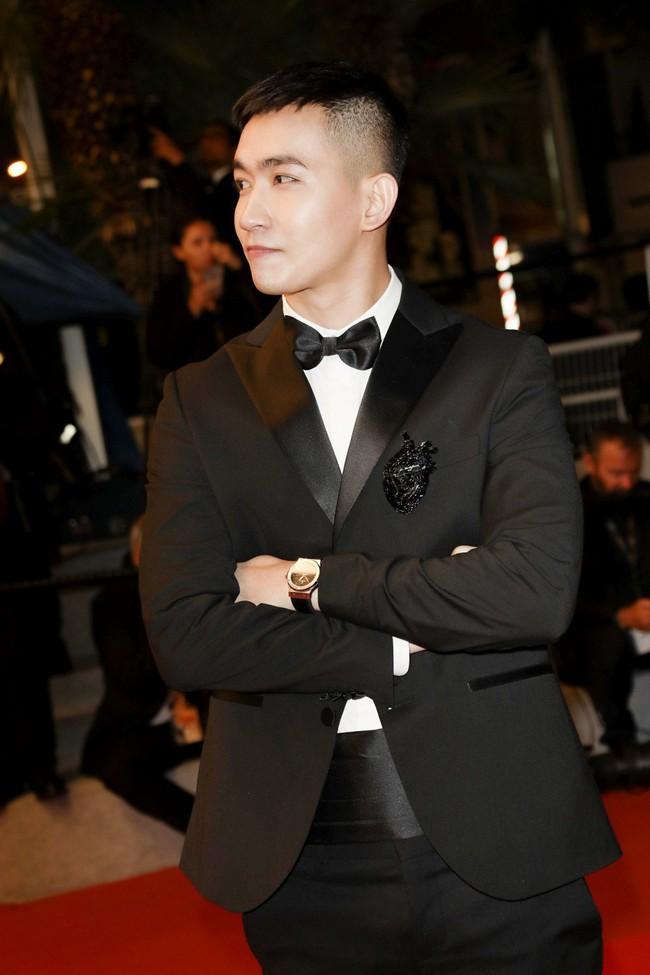 Sau Ngọc Trinh, tình tin đồn một thời của Angela Phương Trinh - Võ Cảnh điển trai trong lần đầu xuất hiện trên thảm đỏ LHP Cannes - Ảnh 8.