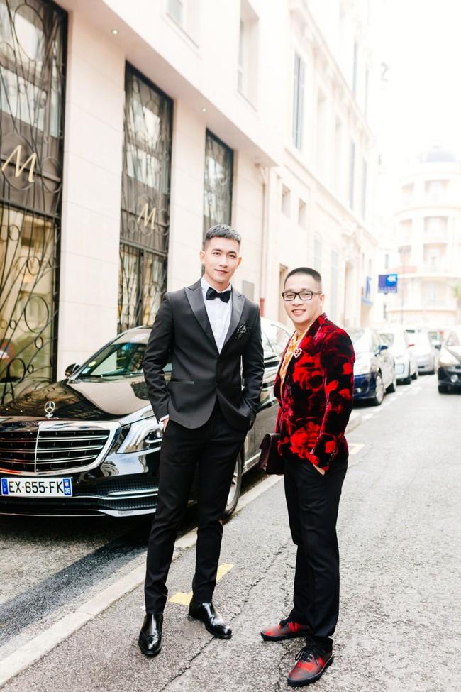 Sau Ngọc Trinh, tình tin đồn một thời của Angela Phương Trinh - Võ Cảnh điển trai trong lần đầu xuất hiện trên thảm đỏ LHP Cannes - Ảnh 10.