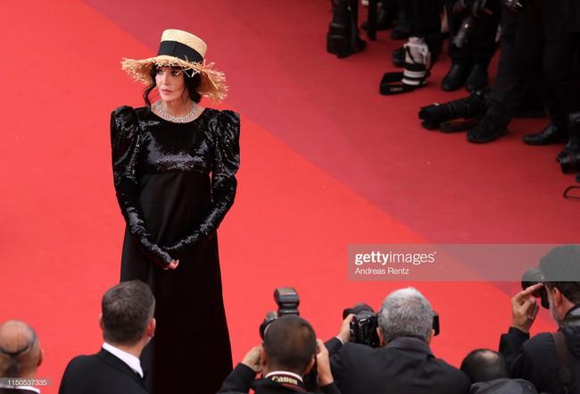 Hoa hậu đẹp nhất thế giới khoác cả chăn lông lên thảm đỏ Cannes 2019 vẫn bị Chương Tử Di ăn mặc kín đáo, đơn giản lấn át - Ảnh 28.