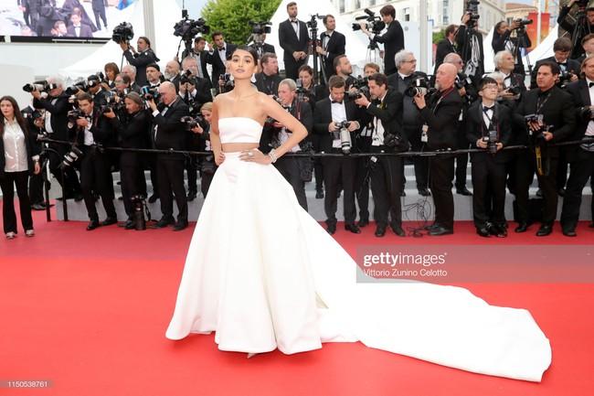 Hoa hậu đẹp nhất thế giới khoác cả chăn lông lên thảm đỏ Cannes 2019 vẫn bị Chương Tử Di ăn mặc kín đáo, đơn giản lấn át - Ảnh 19.