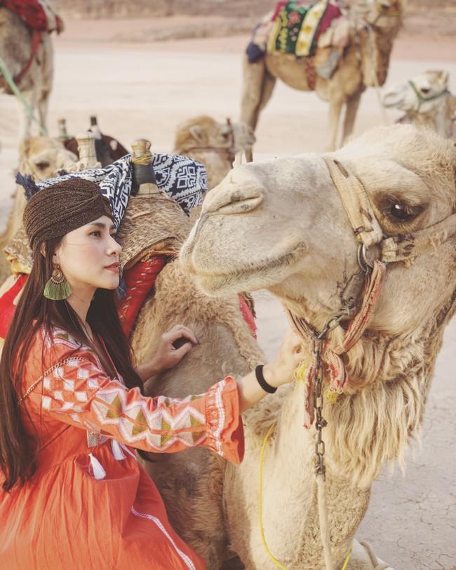Mẹ 1 con xinh đẹp chi hàng trăm triệu đến Jordan đọc sách giữa Biển Chết, cưỡi lạc đà sa mạc - Ảnh 24.