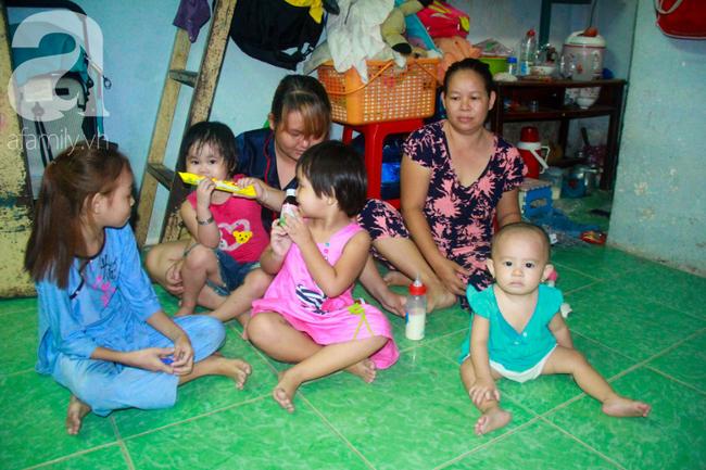 Bất chấp nguy hiểm, mới mổ sinh được 10 ngày, người mẹ đã đi làm thuê để nuôi 5 người con, cháu cùng chồng bệnh tật - Ảnh 2.