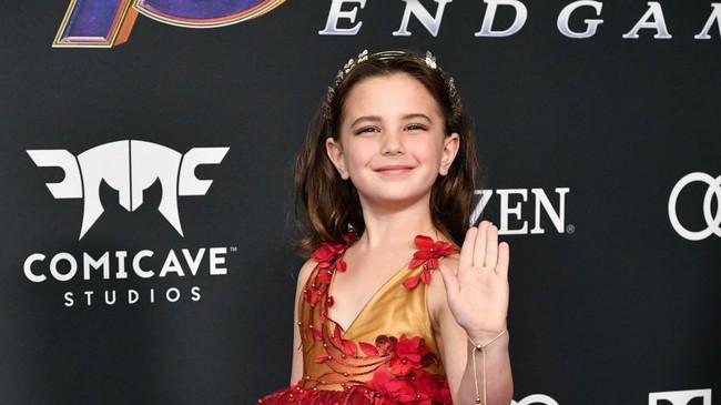 Vẻ đẹp tựa thiên thần của con gái Iron Man trong Avengers: Endgame khiến mạng xã hội phát cuồng - Ảnh 3.