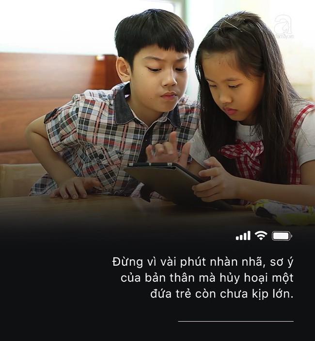 Con quấy khóc hay được bố mẹ cho chơi smartphone: Đừng vì vài phút nhàn rỗi mà hủy hoại một đứa trẻ còn chưa kịp lớn! - Ảnh 7.