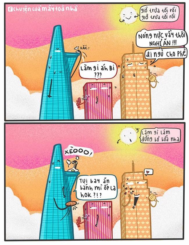 Dân mạng phì cười với loạt ảnh chế mượn lời những tòa nhà nổi tiếng để mô tả nắng nóng Sài Gòn trong mùa này - Ảnh 3.