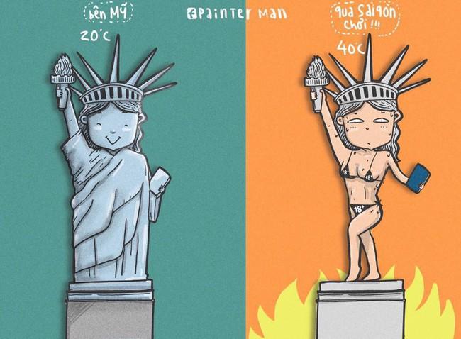 Dân mạng phì cười với loạt ảnh chế mượn lời những tòa nhà nổi tiếng để mô tả nắng nóng Sài Gòn trong mùa này - Ảnh 6.