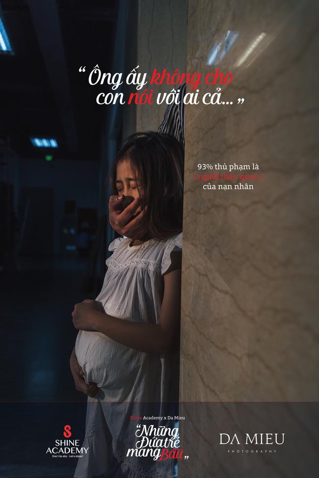 Những đứa trẻ mang bầu - bộ ảnh kèm con số giật mình về nạn ấu dâm khiến ai cũng ám ảnh - Ảnh 3.