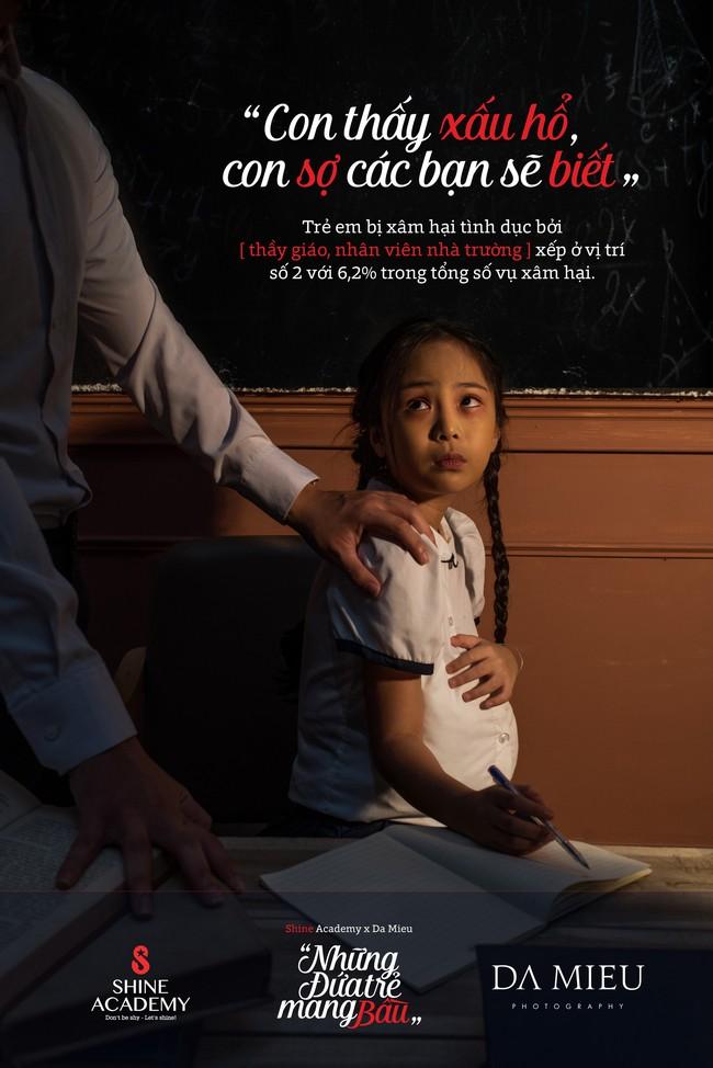 Những đứa trẻ mang bầu - bộ ảnh kèm con số giật mình về nạn ấu dâm khiến ai cũng ám ảnh - Ảnh 2.