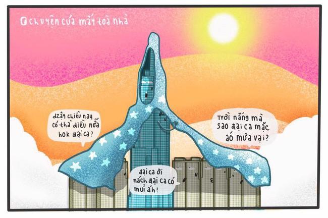 Dân mạng phì cười với loạt ảnh chế mượn lời những tòa nhà nổi tiếng để mô tả nắng nóng Sài Gòn trong mùa này - Ảnh 4.