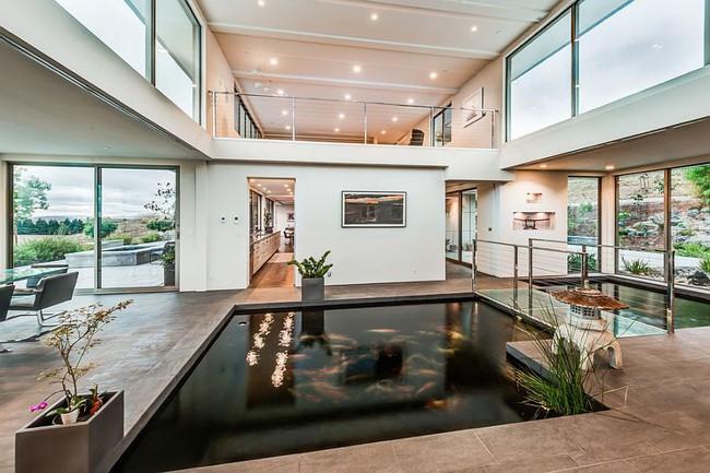 Thiết kế hồ cá tăng cảm giác gần gũi thiên nhiên cho nhà phố - Ảnh 7.