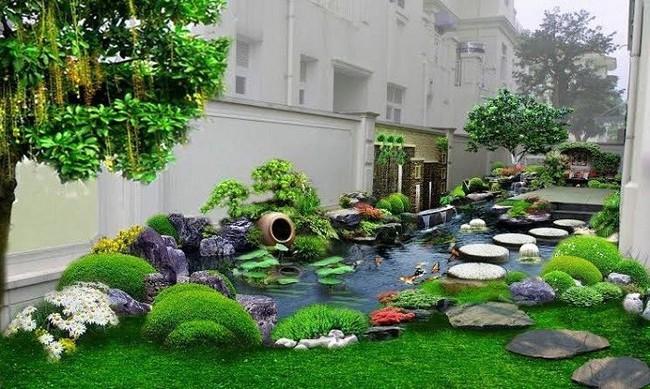 Thiết kế hồ cá tăng cảm giác gần gũi thiên nhiên cho nhà phố - Ảnh 13.