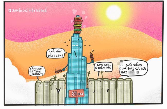 Dân mạng phì cười với loạt ảnh chế mượn lời những tòa nhà nổi tiếng để mô tả nắng nóng Sài Gòn trong mùa này - Ảnh 2.