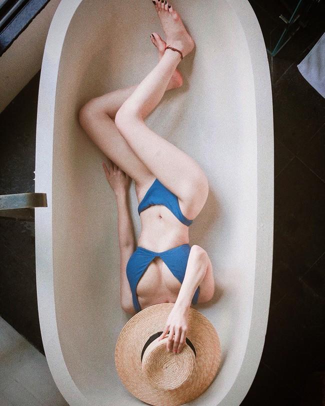 Mỹ nhân Vũ trụ VTV thả dáng với bikini: Ít khi khoe nhưng body cũng rất gì và này nọ, nóng bỏng chẳng kém ai - Ảnh 15.