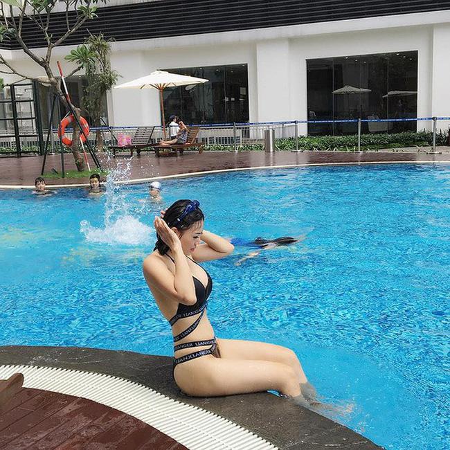 Mỹ nhân Vũ trụ VTV thả dáng với bikini: Ít khi khoe nhưng body cũng rất gì và này nọ, nóng bỏng chẳng kém ai - Ảnh 9.