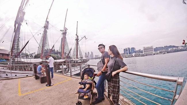 Hot mom Sài Thành đưa con đi du lịch từ 1 tháng tuổi và bật mí khiến nhiều người bất ngờ - Ảnh 3.
