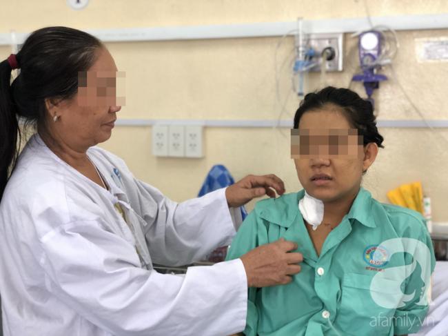Sản phụ hồi phục nhanh sau khi được điều trị