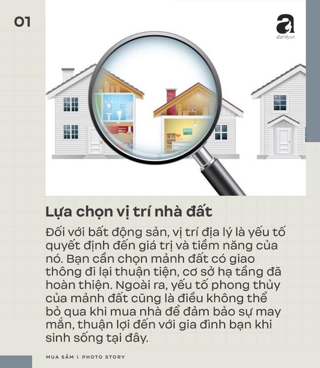 7 kinh nghiệm mua bán nhà đất bạn cần đặc biệt chú ý - Ảnh 1.