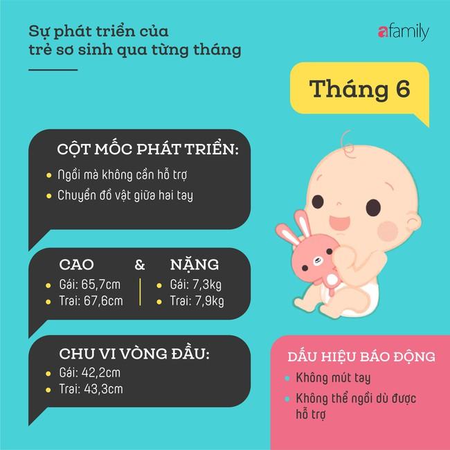 Tham khảo các cột mốc phát triển quan trọng của em bé sơ sinh trong một năm đầu tiên theo từng tháng - Ảnh 6.