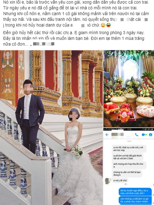 """Sau khi chụp ảnh cưới ở Thái Lan và lễ ăn hỏi hoành tráng cùng màn trao thân của cô dâu, chú rể thú nhận sốc: """"Nằm cạnh em anh lại thấy sợ hãi"""" - Ảnh 1."""