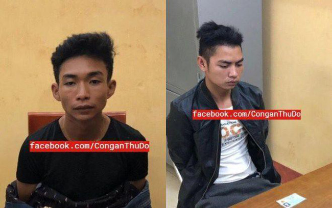 Hai nghi phạm sát hại nam sinh 18 tuổi chạy xe ôm công nghệ vẫn dùng xe cướp được để đi chơi và lẩn trốn - Ảnh 1.