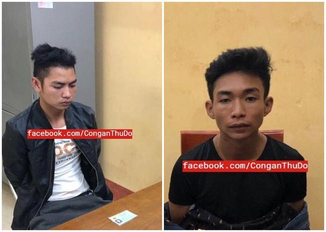NÓNG: Đã bắt được 2 nghi can liên quan đến cái chết của nam sinh 18 tuổi chạy xe ôm công nghệ ở Hà Nội - Ảnh 1.