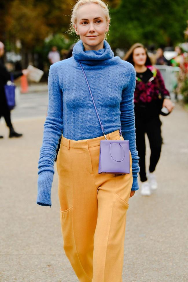 Ngắm street style tại Tuần lễ thời trang Paris, nàng công sở cũng rút ra được vô số tips mix đồ cho mùa mới  - Ảnh 3.