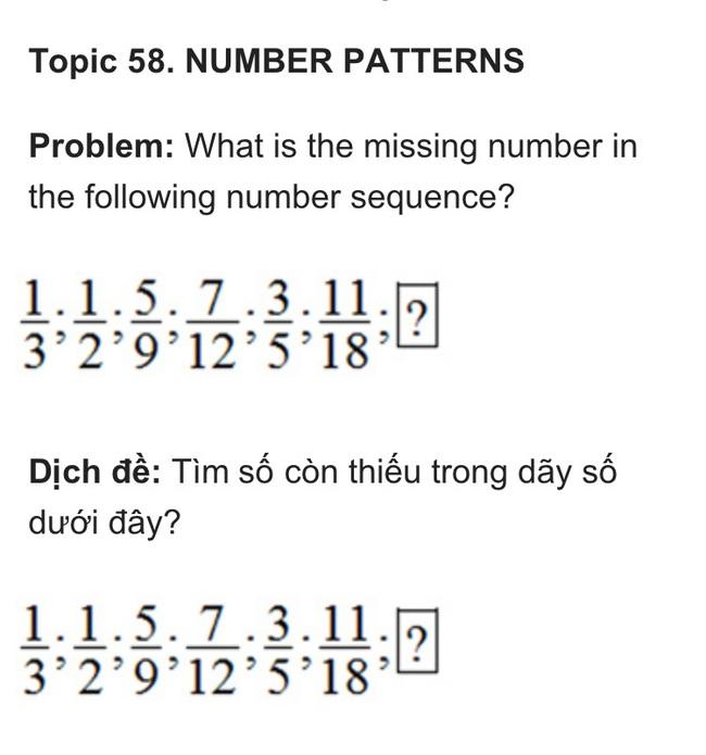 Bài toán lớp 5 trong kỳ thi học sinh giỏi Toán tiểu học , mẹ cho con làm để thử trí thông minh - Ảnh 1.