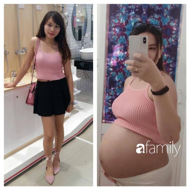Mang bầu tăng 21 kg, con vừa đầy tháng mẹ trẻ Sài thành không cần ăn kiêng đã vô tư diện đồ ôm body khoe dáng  - Ảnh 4.
