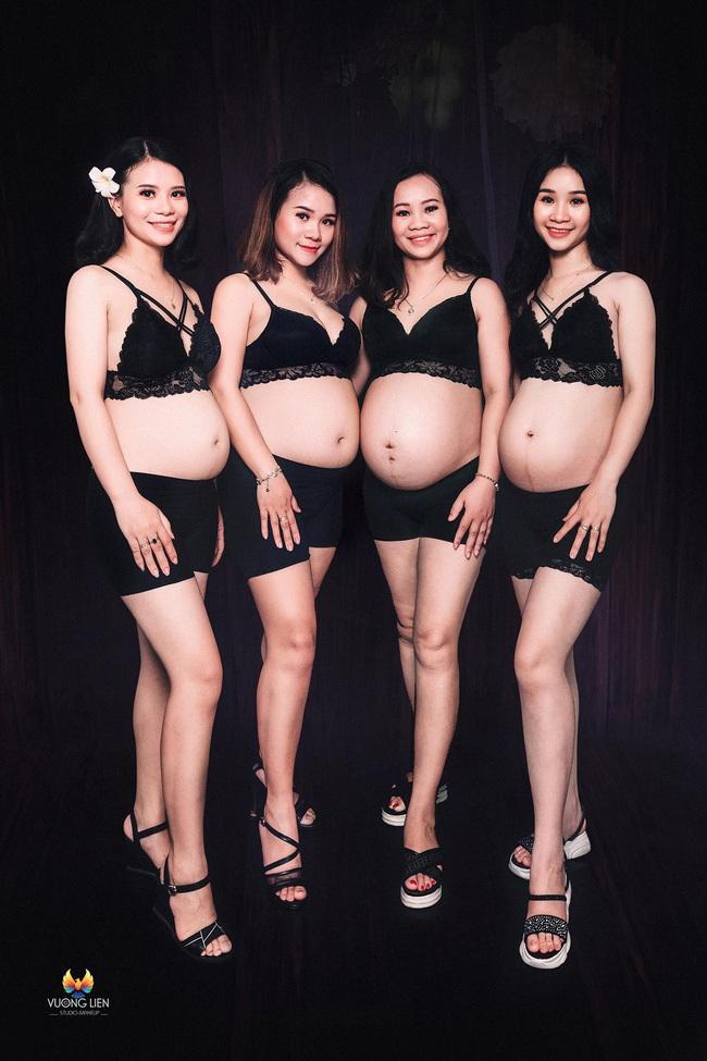 """4 chị em ruột """"rủ nhau"""" mang bầu khiến dân mạng sửng sốt nay đã sinh con, nghe chính chủ chia sẻ càng thêm bất ngờ - Ảnh 3."""