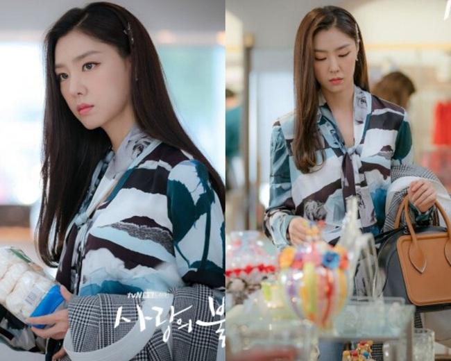 """""""Vợ sắp cưới"""" của Hyun Bin có một tuyệt chiêu làm điệu cho tóc giúp thu gọn mặt, độ sang chảnh tăng tột bậc - Ảnh 3."""