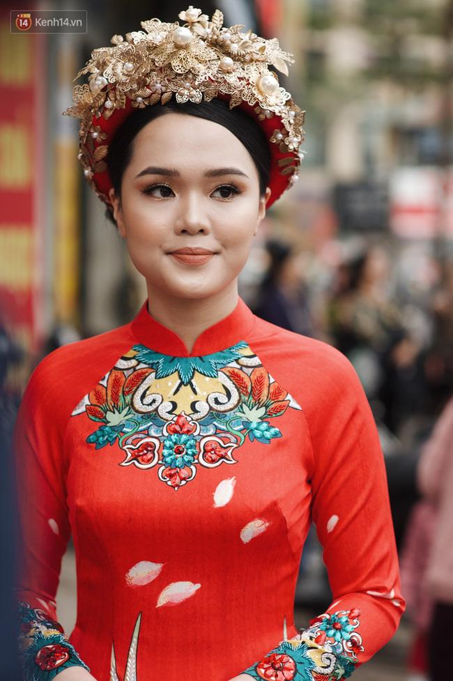 Cô dâu Quỳnh Anh khiến dân tình choáng ngợp với xiêm y lộng lẫy, sang chảnh hệt như Phú Sát Hoàng hậu trong Như Ý Truyện - Ảnh 3.