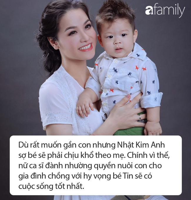 Từng nhường quyền nuôi con cho chồng vì sợ bé chịu khổ, Nhật Kim Anh rớt nước mắt trước câu nói đầy ám ảnh của con trai - Ảnh 3.
