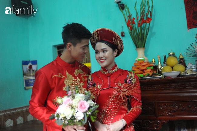 Duy Mạnh rước cô dâu Quỳnh Anh về nhà ở Đông Anh, nhưng đến nơi phải ngồi đợi vì... nhà gái lạc đường - Ảnh 8.