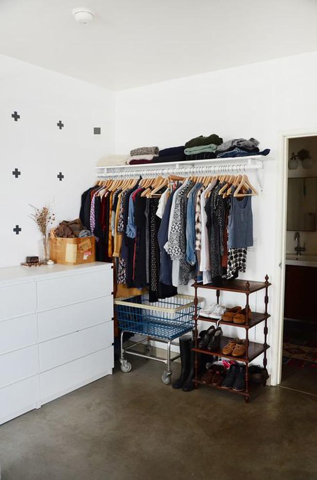 Hô biến tủ quần áo có sức chứa vạn năng chỉ bằng những bước đơn giản sau - Ảnh 3.