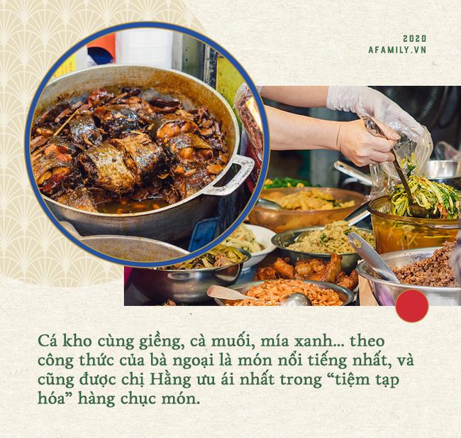 Hàng đồ ăn sẵn nhiều món nhất chợ Hàng Bè: Chỉ riêng cá kho đã bán 200kg mỗi ngày, vì chiều khách mà từ 2 món thành vài chục món  - Ảnh 6.