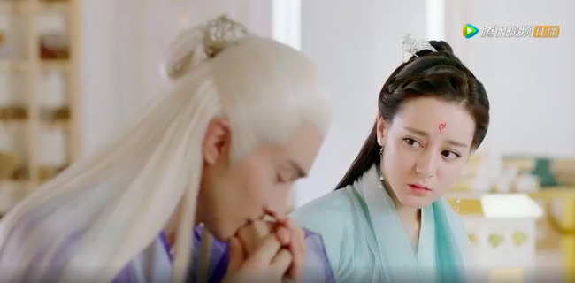 """Trailer đẹp mê hồn của """"Tam sinh tam thế Chẩm thượng thư"""", có cả cảnh Địch Lệ Nhiệt Ba hôn môi - Ảnh 9."""