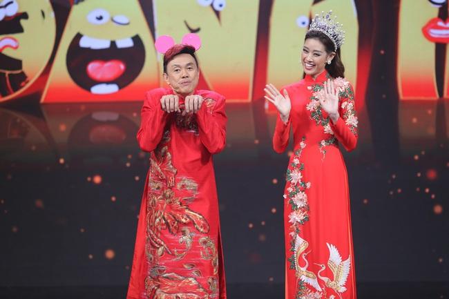 Hoa hậu Hoàn vũ Khánh Vân lần đầu mang vương miện tiền tỷ đầy kim cương lên sân khấu - Ảnh 5.