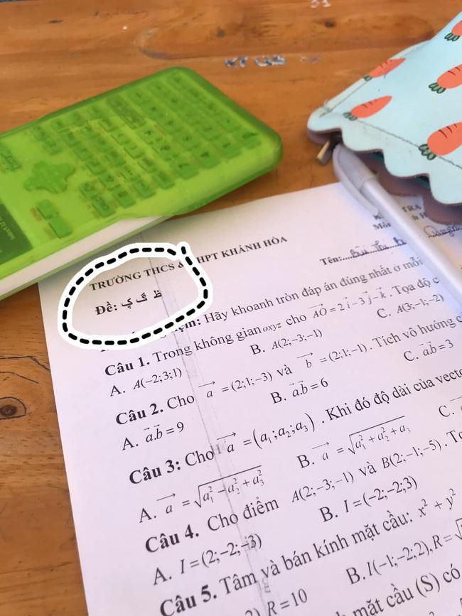 Trình đặt mã đề của thầy cô lên tầm vô cực, nhìn xong không ai hiểu là cái gì, việc miêu tả là điều không thể! - Ảnh 1.