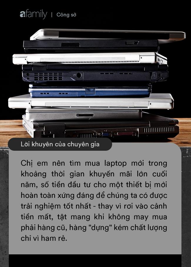 Chị em công sở hỏi khó: Sát Tết mua laptop có phải là lựa chọn khôn ngoan và lời giải đáp từ chuyên gia công nghệ - Ảnh 3.