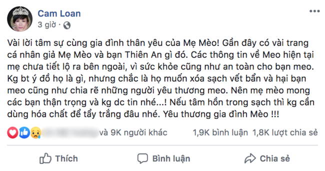 Mẹ Jack bất ngờ đăng đàn tố cáo bị giả Facebook, nói điều gây sốc về Thiên An - bạn gái tin đồn của con trai  - Ảnh 2.