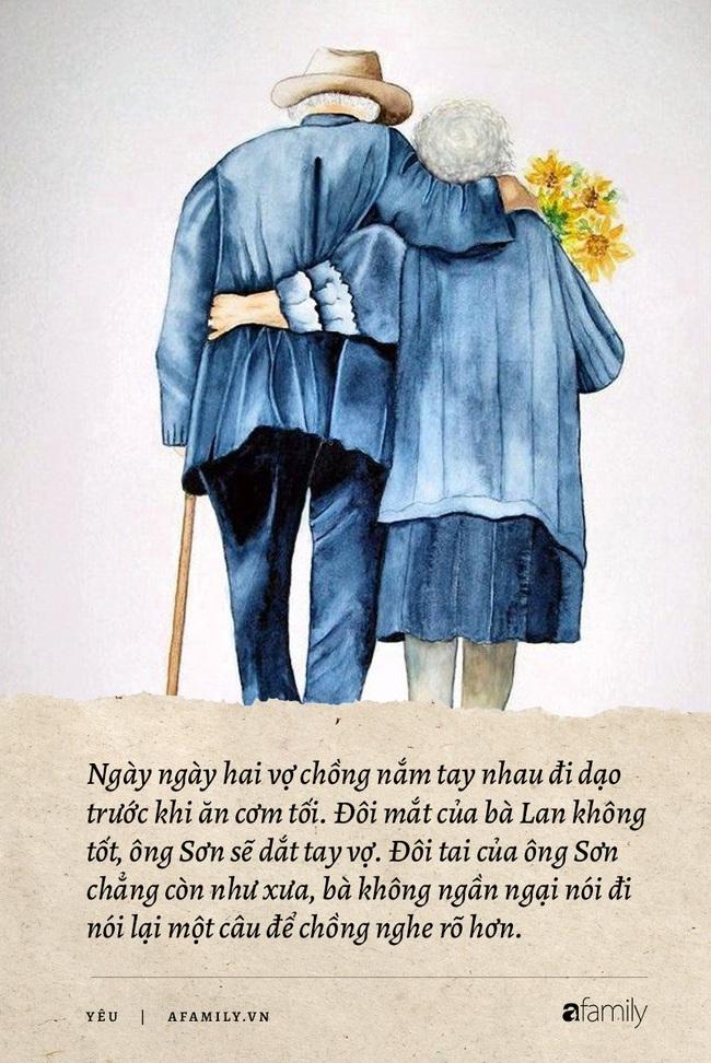 Tại sao tình yêu của những người già luôn cảm động nhất, phải chăng chuyện tình cùng nhau già đi, chứng kiến nhiều sự thay đổi sẽ vô cùng sâu nặng! - Ảnh 2.