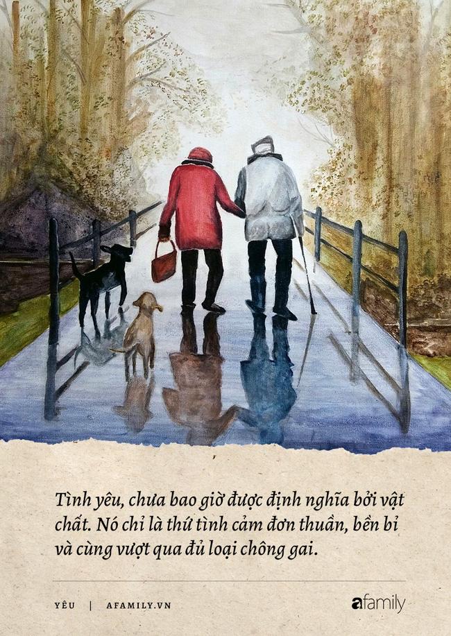Tại sao tình yêu của những người già luôn cảm động nhất, phải chăng chuyện tình cùng nhau già đi, chứng kiến nhiều sự thay đổi sẽ vô cùng sâu nặng! - Ảnh 4.