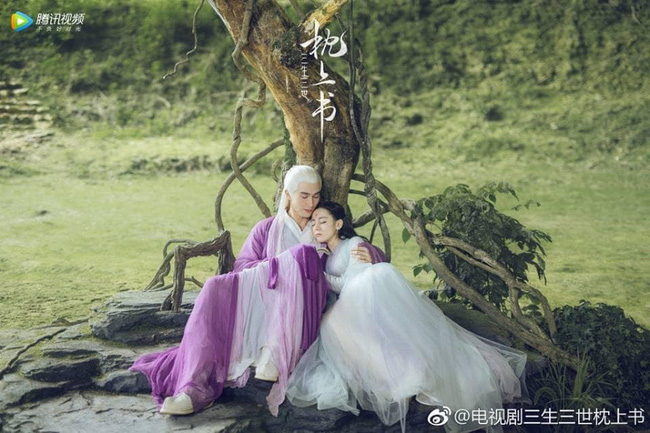 """""""Tam sinh tam thế Chẩm thượng thư"""": Hoa đào biến mất, tín vật tình yêu của Địch Lệ Nhiệt Ba - Cao Vỹ Quang xuất hiện - Ảnh 3."""