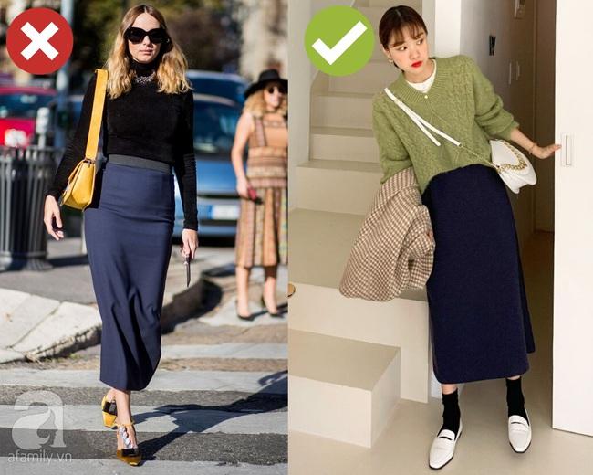 Chống chỉ định mắc 3 lỗi diện chân váy này khi đi chúc Tết bởi nếu không bị dìm dáng, bạn cũng trở nên kém duyên hết sức - Ảnh 3.