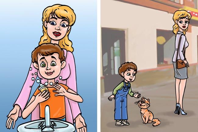 """Bộ tranh minh họa """"Mẹ là siêu nhân"""" tả thật đến nỗi ai xem cũng phải gật gù đồng ý - Ảnh 7."""