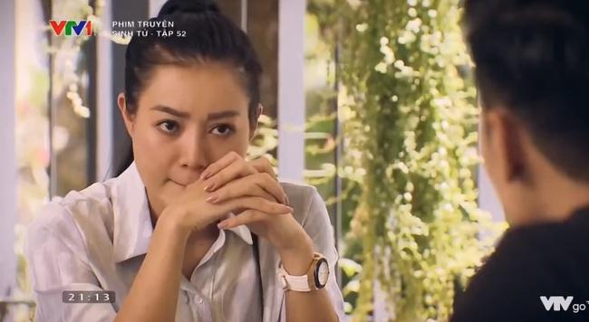 """""""Sinh tử"""" tập 52: Trong khi Quỳnh Nga đang lo sợ Việt Anh """"lấy mạng"""" thì Thanh Hương lại quyết chống đối tới cùng - Ảnh 4."""