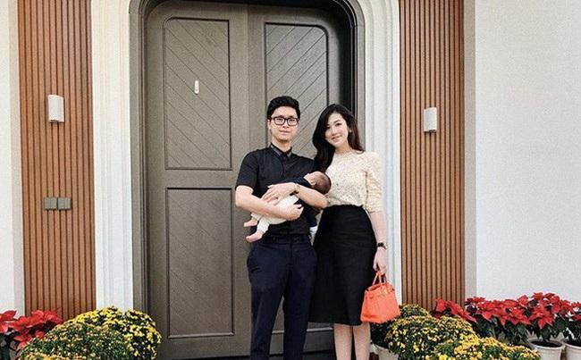 Á hậu Tú Anh khiến fan thích thú khi khoe khoảnh khắc con trai hôn gió mẹ vô cùng đáng yêu - Ảnh 3.