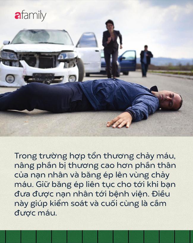 Thấy có người bị tai nạn giao thông, sơ cứu thế nào mới đúng cách để cứu sống? - Ảnh 7.